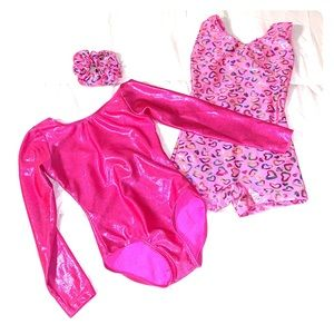 Other - 2 Pink Gymnastics Leo's